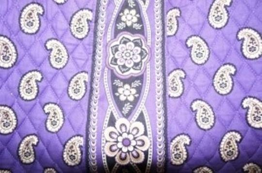 Vera Bradley Simply Violet Hobo Shoulder Bag