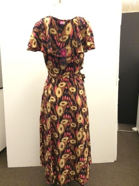Tracy Reese Printed Wear To Work Wrap Dress