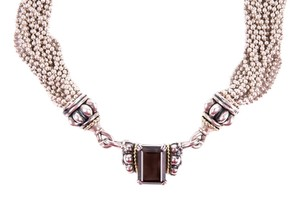 Lagos Lagos Multi-Strand Chain Necklace With Quartz