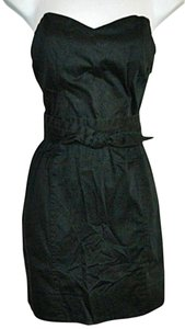 H&M Strapless Lbd Top Size 10 Dress