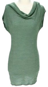 Michael Stars short dress Green Cowl Neck Knit on Tradesy