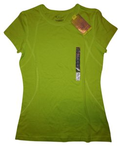 Tek Gear Running Hiking Jogging Biking Sporty T Shirt Bright Yellow-Green