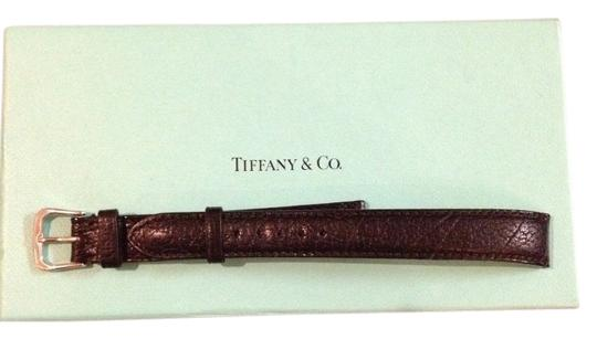 Preload https://item1.tradesy.com/images/tiffany-and-co-black-calfskin-band-watch-1453550-0-0.jpg?width=440&height=440