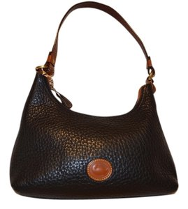 Dooney & Bourke & Leather Small Leather Hobo Bag