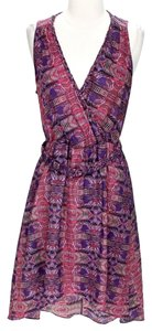 Charlie jade short dress Pink Printed Fit & Flare on Tradesy