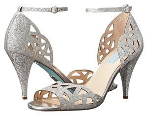 Betsey Johnson Sofia silver Sandals