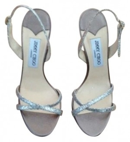 Preload https://item4.tradesy.com/images/jimmy-choo-sparkly-silver-ingrid-sandals-glittered-crisscross-strapped-slingback-ingrid-sandals-form-145363-0-0.jpg?width=440&height=440