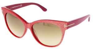 Tom Ford Tom Ford Coral Pink Cateye Sunglasses