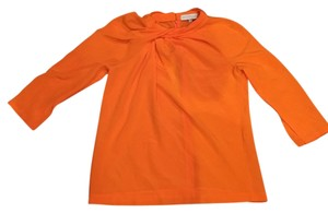 Nellie Partow Top Orange