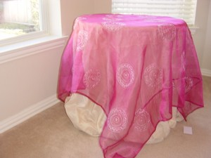 Table Cloth Pink Vstc 1130
