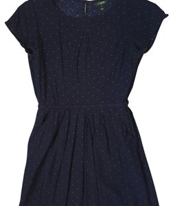 J.Crew short dress Blue; Red on Tradesy