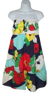 Tibi short dress Floral Mod Cotton Silk on Tradesy