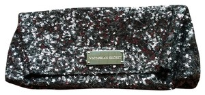 LABOR DAY SALES ENDS TONIGHT!!! Victoria's Secret Sequin Vintage Silver/Grey Clutch