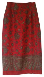 Jones New York Skirt Red