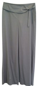 St. John Wide Leg Pants Light Beige
