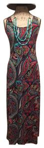 Floral Maxi Dress by Ambiance Apparel