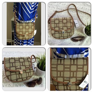 Nine West Brown Messenger Bag