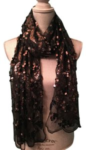 Joan Rivers Sequined long scarf/wrap