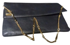 Saks Fifth Avenue off black Clutch