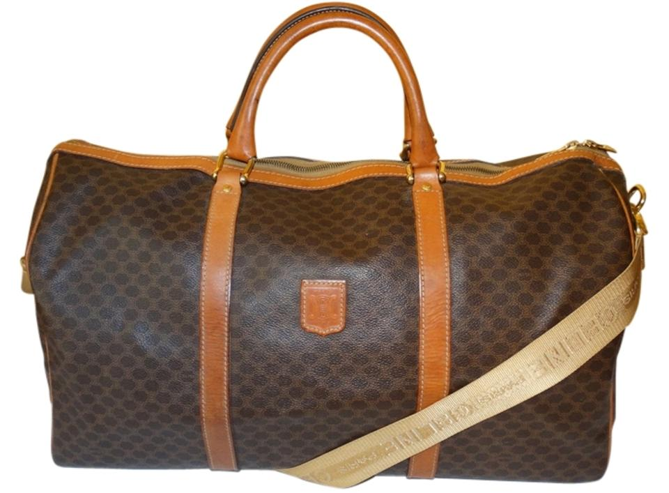 celine handbags online - C��line Macadam Monogram Boston Brown Travel Bag | Weekend/Travel ...