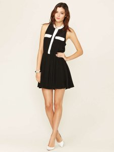 The Letter Shirt Silk Dress