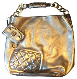 Juicy Couture Marc Chanel Satchel in gold