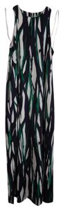 Multi ( white, navy, black, green) Maxi Dress by Anne Klein Maxi Ann Size 2