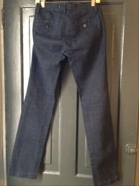 J Brand 714 Ind Dark Denim Trouser Boot Cut Jeans-Medium Wash