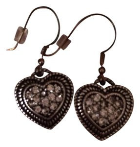 JK by Thirty-One Jewel Kade Double Heart Earrings