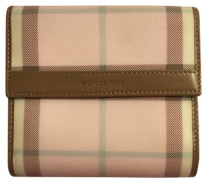 Burberry Authentic Burberry Nova Check Wallet in Pink - Limited Edition!
