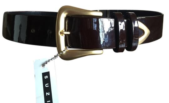 Preload https://item3.tradesy.com/images/suzi-roher-brown-patent-leather-with-brass-accents-belt-1454382-0-0.jpg?width=440&height=440