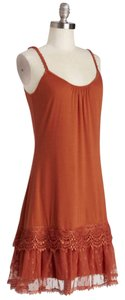 Modcloth short dress Sunset Orange on Tradesy