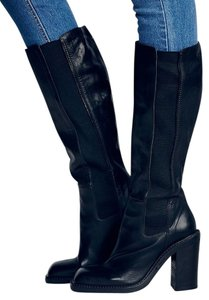 Vic Matié Florentine Tall Size Eu 37 / Us 7 Leather Free People Sale Black Boots