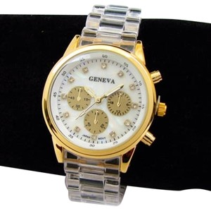 Gold Geneva Watches Shop Designer Fashion At Tradesy And