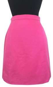 Chanel Pink Versatile Bright Staple Skirt pink, fuchsia