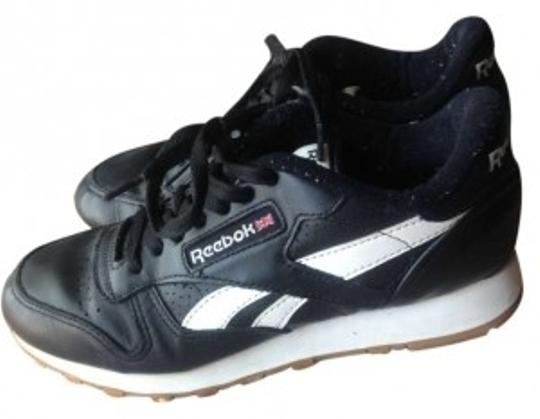 Reebok Black and White Athletic