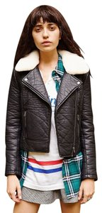 Urban Outfitters Leather Fur Leather Jacket