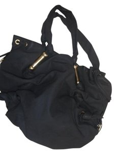 Rampage Shoulder Tote in Black/pink