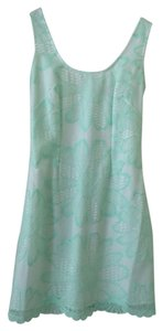 Lilly Pulitzer Lace Sparkle Scalloped A-line Formal Dress