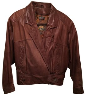 Adventure Bound Brown Leather Jacket