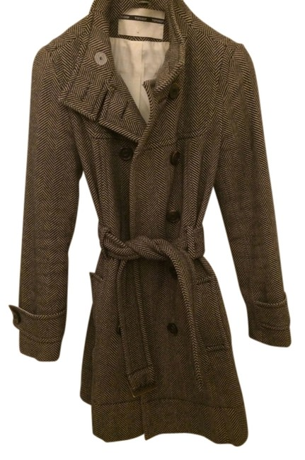 Preload https://item1.tradesy.com/images/topshop-brown-wool-blend-trench-coat-size-6-s-1454910-0-0.jpg?width=400&height=650