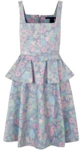 Marc by Marc Jacobs short dress Blue, pink, green, pastel Flora on Tradesy