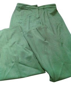 Trussardi Straight Pants green