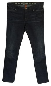 Earnest Sewn Cigarette Skinny Jeans-Distressed