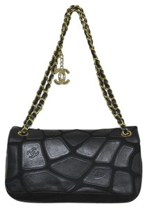 Chanel Leather Patchwork Handbag Shoulder Bag