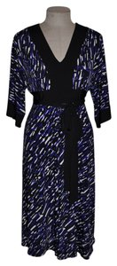 Donna Morgan short dress Kimono Jersey 3/4 Sleeve on Tradesy
