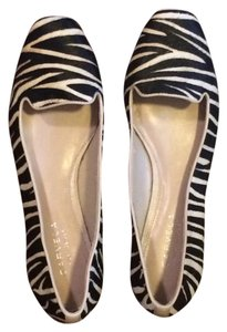 Carvela Kurt Geiger Black and White Zebra Flats