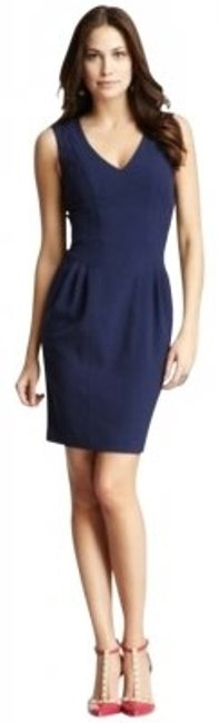 Preload https://img-static.tradesy.com/item/145516/vince-camuto-eclipse-navy-knee-length-workoffice-dress-size-12-l-0-0-650-650.jpg