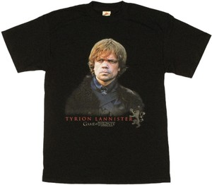 Game of Thrones Party T Shirt Black