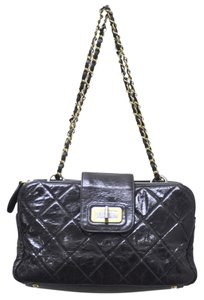 Chanel Leather Reissue Accordion Handbag Shoulder Bag